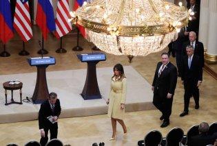 Το λάγνο βλέμμα του Λαβρόφ στις ατέλειωτες γάμπες της Μελάνια Τραμπ κάνει το γύρο του κόσμου - Κυρίως Φωτογραφία - Gallery - Video