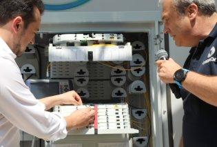 Όμιλος ΟΤΕ: Ενεργοποιήθηκε η πρώτη σύνδεση οπτικών ινών μέχρι το σπίτι από τον υπουργό Νίκο Παππά (Φωτό) - Κυρίως Φωτογραφία - Gallery - Video