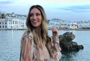 Αθηνά Οικονομάκου: Εντυπωσιακή με μπικίνι 4 μήνες μετά την γέννηση του γιου της- Η φωτό από την παραλία! - Κυρίως Φωτογραφία - Gallery - Video