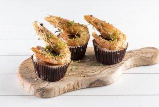 Αλμυρά cupcakes γαρίδας: Θαλασσινή απόλαυση… αλλιώς από τον Άκη Πετρετζίκη - Κυρίως Φωτογραφία - Gallery - Video