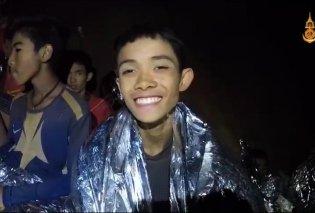 Παγκόσμια χαρά: Όλα τα παιδιά κι ο προπονητής βγήκαν από το σπήλαιο στην Ταϊλάνδη (Βίντεο) - Κυρίως Φωτογραφία - Gallery - Video