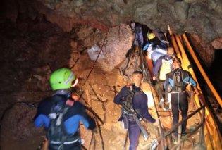 Ταϊλάνδη: Απεγκλωβίστηκαν άλλα τέσσερα παιδιά από το σπήλαιο - Η επιχείρηση θα συνεχιστεί αύριο (Φωτό & Βίντεο) - Κυρίως Φωτογραφία - Gallery - Video