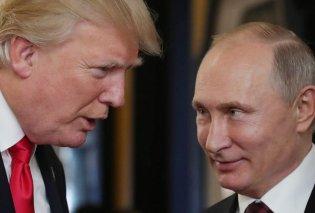 Συνάντηση Τραμπ - Πούτιν: Η «κρύα» χειραψία κι η περίεργη στάση σώματος - Τι δήλωσε ο Αμερικανός Πρόεδρος (Φωτό & Βίντεο) - Κυρίως Φωτογραφία - Gallery - Video