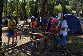 Επαναλειτουργούν οι κατασκηνώσεις του δήμου Αθηναίων στον Αγ. Ανδρέα - Κυρίως Φωτογραφία - Gallery - Video