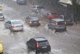 Το καλοκαίρι έγινε φθινόπωρο... Ισχυρή καταιγίδα πλήττει την Αττική- Ποτάμια οι δρόμοι (φωτο-βιντεο) - Κυρίως Φωτογραφία - Gallery - Video