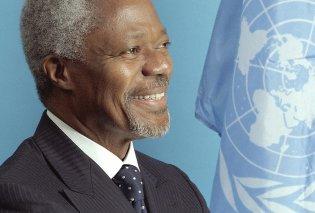 Η παγκόσμια πολιτική σκηνή «αποχαιρετά» τον Κόφι Ανάν- Ο πρώην γενικός γραμματέας του ΟΗΕ έφυγε από τη ζωή (φωτο) - Κυρίως Φωτογραφία - Gallery - Video