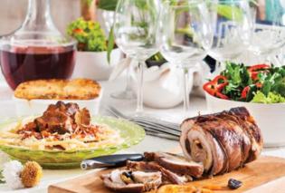 Το γιορτινό τραπέζι του Δεκαπενταύγουστου από την Αργυρώ Μπαρμπαρίγου - Κυρίως Φωτογραφία - Gallery - Video