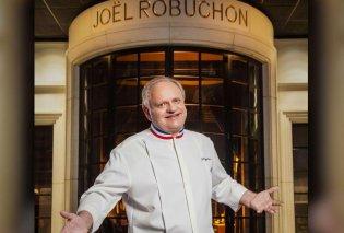 Πέθανε ο διάσημος Γάλλος σεφ Jorl Robuchon με 3 αστέρια Michelin - Τον χαρακτήριζαν ο «σεφ του αιώνα»  - Κυρίως Φωτογραφία - Gallery - Video
