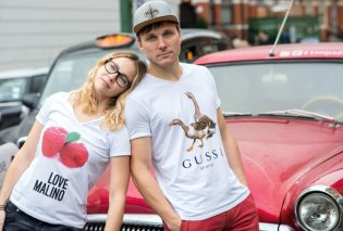 Pradam ...H Prada η Louis Bidon η Chavel ! Kinza ...Gussi : Ο  Ουκρανός που τρολάρει τις μεγάλες μάρκες σε υπέροχα tshirts (φώτο) - Κυρίως Φωτογραφία - Gallery - Video