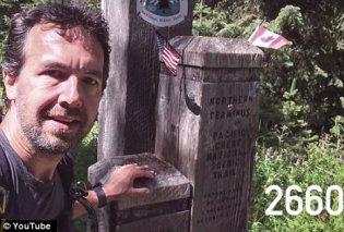 Καταπληκτικό βίντεο- Κάθε μέρα επί 5 μήνες μια σέλφι! Περπάτησε 2600 μίλια, έχασε 22 κιλά, χάλασε 5 παπούτσια   - Κυρίως Φωτογραφία - Gallery - Video
