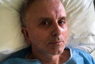 Ο Δήμος Βερύκιος τυχερός στην ατυχία του: Τι ανέφερε για το πρόβλημα υγείας που τον έφερε στο νοσοκομείο - Κυρίως Φωτογραφία - Gallery - Video