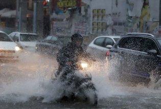 Κυκλώνας Ζόρμπας: Σε ποιους δρόμους έχει διακοπεί η κυκλοφορία - Κυρίως Φωτογραφία - Gallery - Video