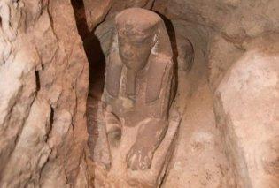 Μια υπέροχη Σφίγγα ήρθε στο φως σε ναό της Αίγυπτου - Αρχαιολογικός θησαυρός τεράστιας σημασίας (Φωτό) - Κυρίως Φωτογραφία - Gallery - Video