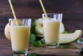 H Νένα Ισμυρνόγλου μας προτείνει το πιο ενεργειακό ρόφημα: Smoothie με πεπόνι, αβοκάντο, γάλα και καρύδια  - Κυρίως Φωτογραφία - Gallery - Video