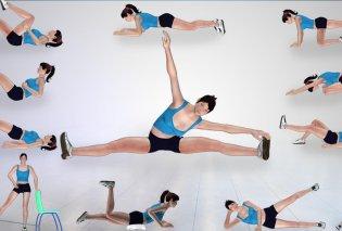 7 ασκήσεις για την ακράτεια - Πως θα ενδυναμώσετε την πυελική σας « περιοχή» - Κυρίως Φωτογραφία - Gallery - Video