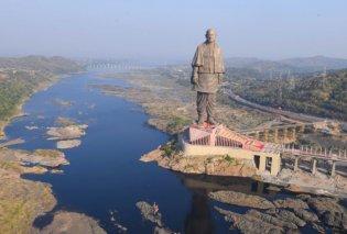 Αυτό είναι το ψηλότερο άγαλμα του κόσμου - Δείτε τις πρώτες φωτογραφίες από το Ινδικό «θαύμα» - Κυρίως Φωτογραφία - Gallery - Video