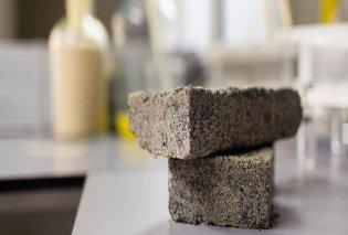 Φτιάχτηκε το πρώτο βιο- τούβλο από ανθρώπινα ούρα και βακτήρια     - Κυρίως Φωτογραφία - Gallery - Video