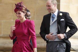 Εντυπωσιακή με φούξια η Κέιτ Μίντλετον  στον γάμο της πριγκίπισσας Ευγενίας (Φωτό&Βίντεο) - Κυρίως Φωτογραφία - Gallery - Video