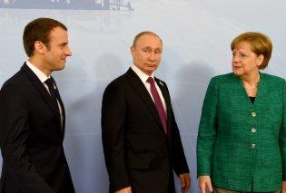Σύνοδος κορυφής: Πούτιν Μακρόν και Μέρκελ στην Κωνσταντινούπολη για τη Συρία - Κυρίως Φωτογραφία - Gallery - Video