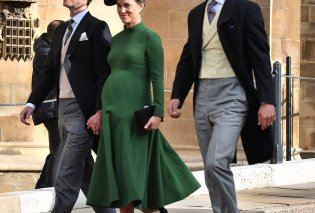 Γάμος Ευγενίας: Ετοιμόγεννη η Πίπα Μίντλετον που είχε συνεπάρει τα πλήθη στον γάμο της πριγκίπισσας αδελφής της (Φώτο&Βίντεο) - Κυρίως Φωτογραφία - Gallery - Video