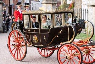 Βασιλικός γάμος Ευγενίας - Οι καλύτερες φώτο: Το νυφικό, τα φουστάνια Κέιτ - Μέγκαν & οι celebrities καλεσμένοι   - Κυρίως Φωτογραφία - Gallery - Video