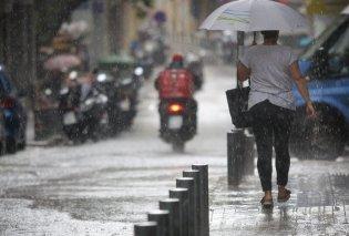 Έκτακτο δελτίο επιδείνωσης καιρού από την ΕΜΥ - Βροχές και καταιγίδες σε όλη την χώρα - Κυρίως Φωτογραφία - Gallery - Video