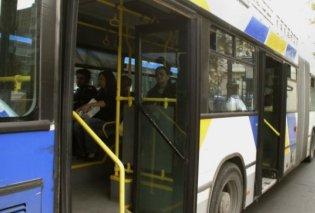 Τρόμος σε Συγγρού και Αγ. Αναργύρους: Συντονισμένη επίθεση σε λεωφορεία - Τραυματίστηκε ελαφρά μια επιβάτης - Κυρίως Φωτογραφία - Gallery - Video