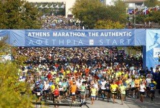 36ος Μαραθώνιος της Αθήνας, τιμά τη μνήμη των θυμάτων της καταστροφής στο Μάτι -  Στέλνει  μήνυμα αισιοδοξίας και ελπίδας  - Κυρίως Φωτογραφία - Gallery - Video