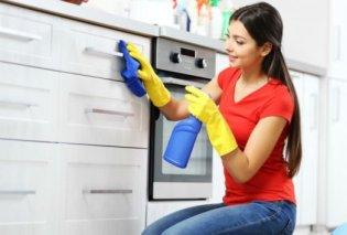 Σπύρος Σούλης: Ντουλάπια κουζίνας - Καθαρίστε τα σε 5 κινήσεις - Κυρίως Φωτογραφία - Gallery - Video