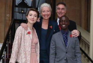 Η Εmma Thomson γερασμένη Dame, ο γοητευτικός σύζυγος της και ο πρίγκιπας Κάρολος στο Μπάκιγχαμ - Κυρίως Φωτογραφία - Gallery - Video