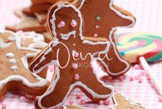 Ντίνα Νικολάου: Φτιάξε μόνες σας γευστικά μπισκότα για χριστουγεννιάτικα στολίδια! - Κυρίως Φωτογραφία - Gallery - Video