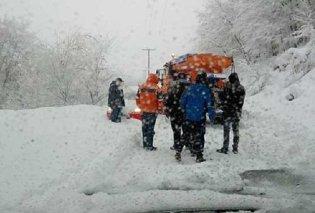 Στο έλεος του πρόωρου χιονιά η χώρα - Που χρειάζονται αντιολισθητικές αλυσίδες - Τα προβλήματα από την κακοκαιρία  (φωτό) - Κυρίως Φωτογραφία - Gallery - Video