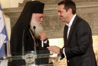 Η Ιεραρχία της Εκκλησίας της Ελλάδας συνεδριάζει εκτάκτως: Ο Αρχιεπίσκοπος Ιερώνυμος ενημερώνει τους Αρχιερείς για τη συμφωνία με τον Αλέξη Τσίπρα - Κυρίως Φωτογραφία - Gallery - Video