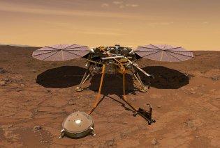 «Insight»: Δείτε την πρώτη εικόνα που έστειλε το ερευνητικό σκάφος από τον πλανήτη Άρη (Φωτό & Βίντεο) - Κυρίως Φωτογραφία - Gallery - Video