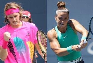 Οι Έλληνες τιτάνες του τένις, Τσιτσιπάς - Σάκκαρη, απέναντι σε Φέντερερ και Σερένα - Κυρίως Φωτογραφία - Gallery - Video
