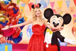 Η Κιάρα Φεράνι στη Disneyland και νονά των 90ων γενεθλίων του Μίκυ Μάους - Παραμυθένια κλικς της όμορφης blogger (φωτό)  - Κυρίως Φωτογραφία - Gallery - Video