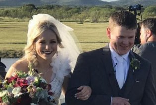 Νιόπαντρο ζευγάρι σκοτώθηκε με ελικόπτερο 2 ώρες μετά την τελετή του γάμου του (Φωτό) - Κυρίως Φωτογραφία - Gallery - Video