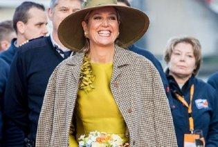 Άλλη μια ονειρική εμφάνιση από την βασίλισσα Μαξίμα: Με χρυσό φόρεμα βάφτισε πολυτελές σκάφος στο Ρότερνταμ (φώτο)   - Κυρίως Φωτογραφία - Gallery - Video