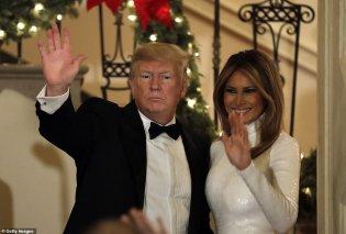 Όταν η Μελάνια Τραμπ επιλέγει το λευκό για Χριστούγεννα στο Λευκό Οίκο: Μια πρώτη κυρία που λάμπει (φωτό-βίντεο) - Κυρίως Φωτογραφία - Gallery - Video