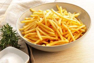 Νέα έρευνα: Με πόσες τηγανιτές πατάτες συνοδεύεις το φαγητό σου; Αυτός είναι ο σωστός αριθμός   - Κυρίως Φωτογραφία - Gallery - Video