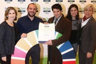 Σημαντικές διακρίσεις για την Eurobank στα «Bravo Sustainability Awards 2018»  - Κυρίως Φωτογραφία - Gallery - Video