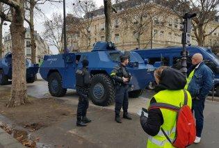 """""""Κίτρινο» το Παρίσι :Εκατοντάδες συλλήψεις - Drones και θωρακισμένα οχήματα σε θέση μάχης  (φωτό-βίντεο) - Κυρίως Φωτογραφία - Gallery - Video"""