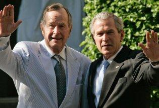 """Τα τελευταία λόγια του Τζορτζ Μπους στον γιο του: """"Κι εγώ σ' αγαπώ"""" - Κυρίως Φωτογραφία - Gallery - Video"""