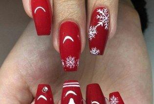 Χριστουγεννιάτικα νύχια με υπέροχα χρώματα & σχέδια - Ιδού 30 εντυπωσιακές προτάσεις - Φώτο - Κυρίως Φωτογραφία - Gallery - Video