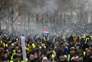 """Παρίσι: Με επεισόδια και συγκρούσεις κάνουν """"ποδαρικό"""" στο 2019 τα κίτρινα γιλέκα (φώτο - βίντεο) - Κυρίως Φωτογραφία - Gallery - Video"""