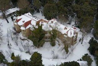 Απίθανα πλάνα από τα χιονισμένα ανάκτορα στο Τατόι – Ένα βίντεο βγαλμένο από παραμύθι - Κυρίως Φωτογραφία - Gallery - Video