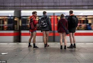 Γιατί δεκάδες επιβάτες του μετρό ήταν χθες με τα εσώρουχά τους - Δείτε φωτογραφίες - Κυρίως Φωτογραφία - Gallery - Video