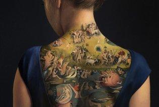 Όταν τα φαινόμενα απατούν- Μπορεί να μοιάζει με εντυπωσιακό τατουάζ στην πλάτη μιας γυναίκας αλλά είναι... (ΦΩΤΟ) - Κυρίως Φωτογραφία - Gallery - Video
