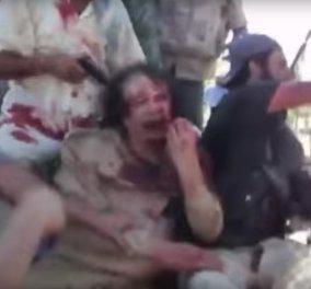 Συγκλονιστικό βίντεο του BBC: Οι τελευταίες στιγμές του Καντάφι πριν τον εκτελέσουν - Γεμάτος αίματα ικετεύει για τη ζωή του  - Κυρίως Φωτογραφία - Gallery - Video