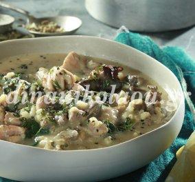 Η Ντίνα Νικολάου μας μαγειρεύει την παραδοσιακή μαγειρίτσα - Καλή Ανάσταση! - Κυρίως Φωτογραφία - Gallery - Video